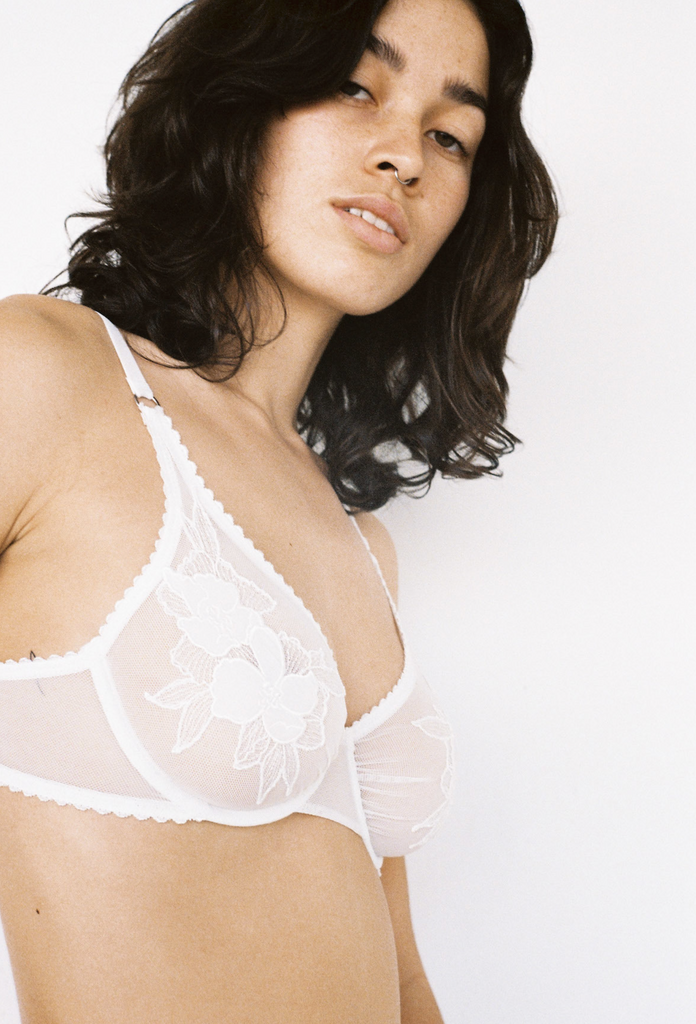Lonely Label Etta Underwire Bra Ivory