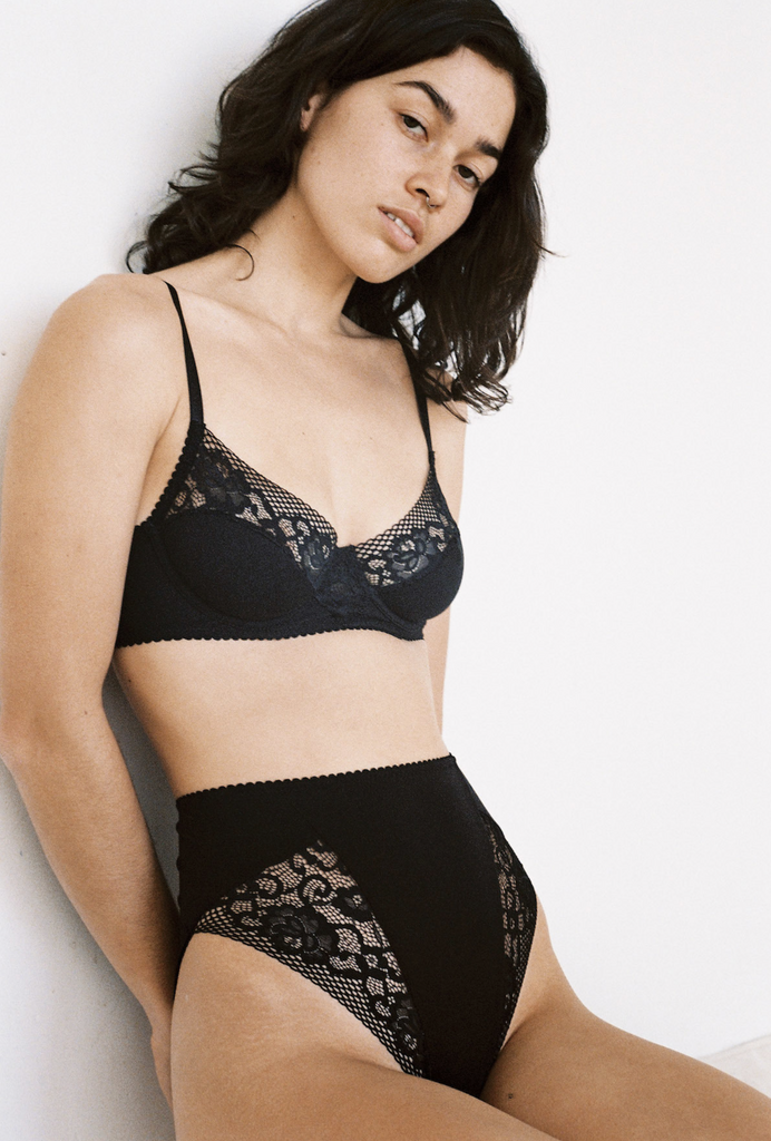 Lonely Label Odette Underwire Bra Black
