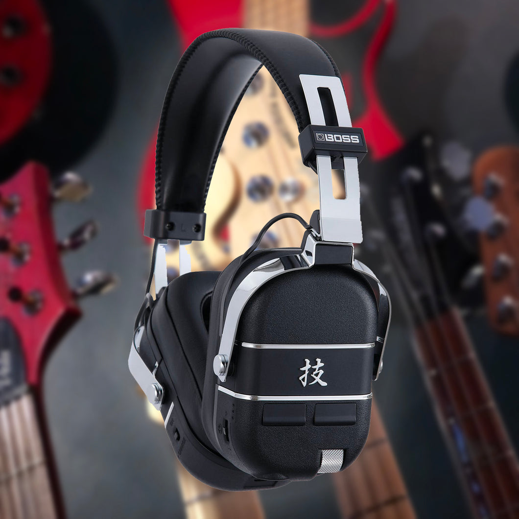 Boss Waza Air Wireless Guitar Amp Headphones - Refer A Friend Exclusive Draw