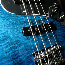 Load image into Gallery viewer, Fender Player Series Plus Top Jazz Bass in Blue Burst Limited Edition