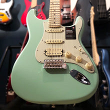 Load image into Gallery viewer, Fender American Performer Stratocaster HSS - Satin Surf Green