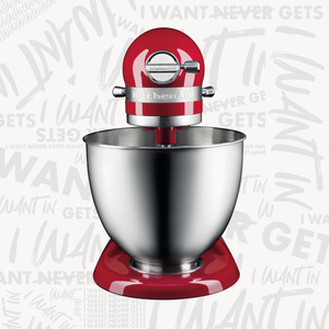 KitchenAid Mini Stand Mixer - Empire Red