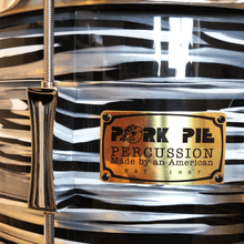 Load image into Gallery viewer, Pork Pie USA Custom Maple 14x7'' Snare Drum - Custom Bowling Ball w/ Chrome