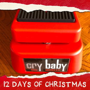 Jim Dunlop Cry Baby Tom Morello Wah Pedal