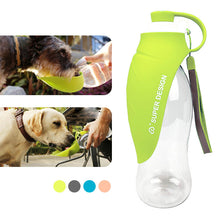 Collapsible Pet Dog Bottle Water Bowl