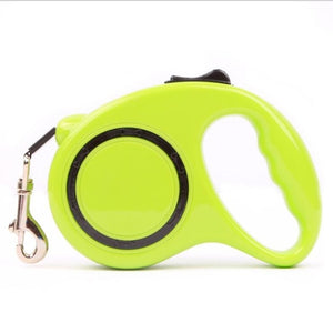 Dog Accessories Automatic Retractable Green