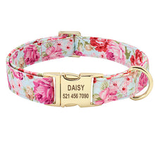 Dog Collar Personalized Custom Nylon