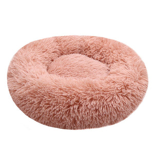 Warm Round Dog Bed