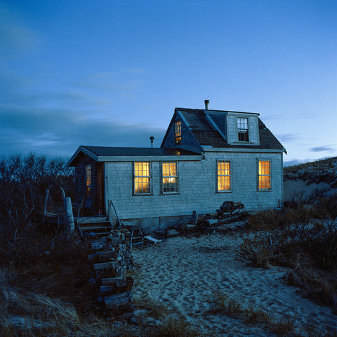 Kristen Bartley - Dune Shack Blue Hour, 2017