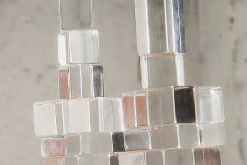 Elizabeth LoPiccolo - untitled, lucite tower #1, 2020