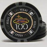 LAS VEGAS CHIP SET 500 PIECE 14GR