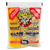 BOX OF 24 PREPACKED PORTIONS OF 8OZ POPCORN