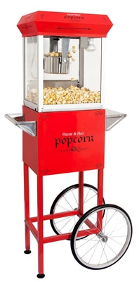 4OZ POPCORN MACHINE WITH CART