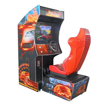 RACE CAR GAME WITH CHAIR