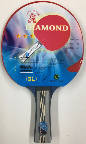 GIANT DRAGON DIAMOND PING PONG PADDLE