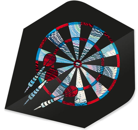 SHINY DARTBOARD DART FLIGHT