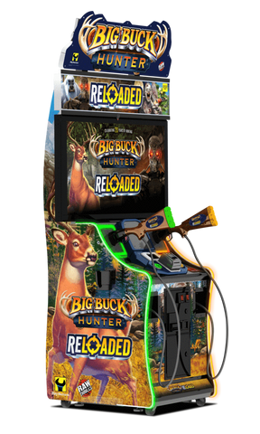 BIG BUCK HUNTER RELOADED PANORAMA ONLINE WITH 42 INCH MONITOR