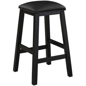 SQUARE BACKLESS BARSTOOL