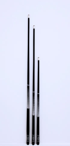 ONE PIECE SHORT GRAPHITE CUE 36, 48, OR 52 INCH