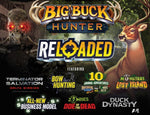 BIG BUCK HUNTER RELOADED PANORAMA OFFLINE WITH 42 INCH MONITOR