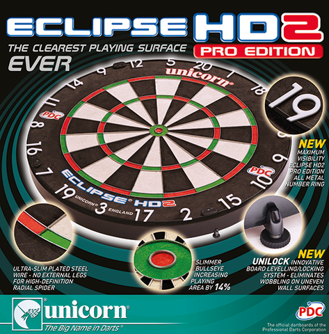ECLIPSE HD2 DARTBOARD