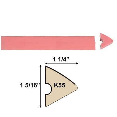 K55 PINK RAIL RUBBER