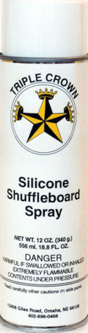 SHUFFLEBOARD SILICON SPRAY