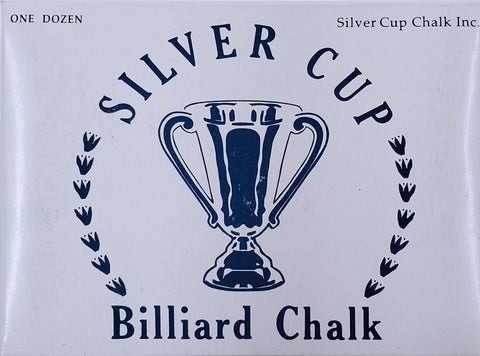 SILVER CUP BILLIARD CHALK