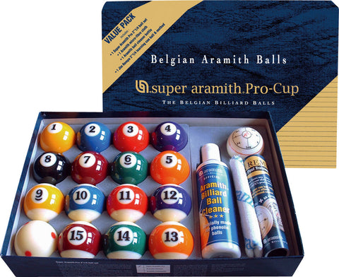 2 1/4 ARAMITH SUPER PRO CUP VALUE PACK