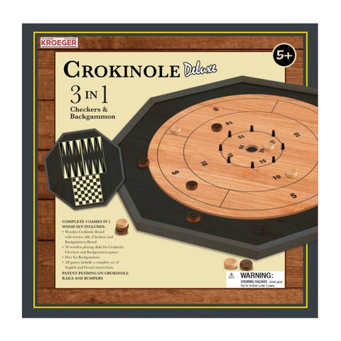 CROKINOLE 3 IN 1