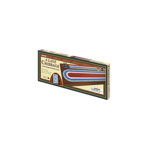LARGE 4 TRACK CRIBBAGE BOARD