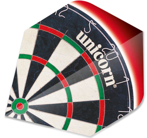 DULL DARTBOARD DART FLIGHT