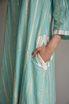 Mint/Silver - Mint/Gold Unisex Ombre Tunic