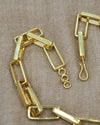 Handmade Brass Chain-Link Necklace