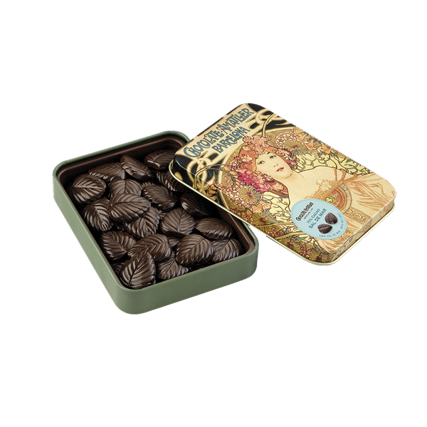 Dark Chocolate with Salt in a Collectable Gift Tin