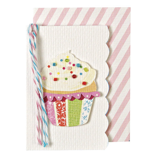 CUPCAKE GIFT ENCLOSURE CARD