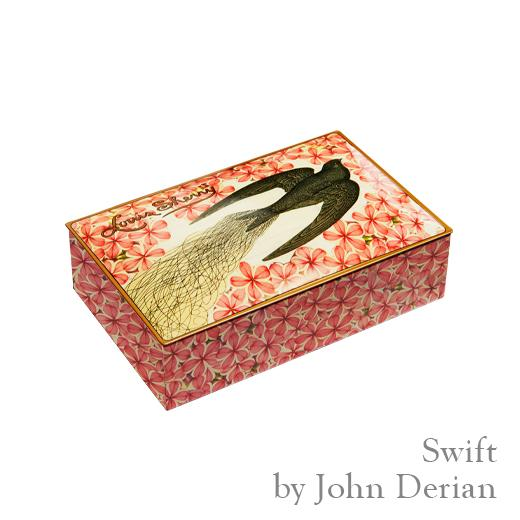 John Derian Swift-Chocolate Tin