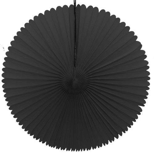 "Honeycomb Fan-13"" Black"