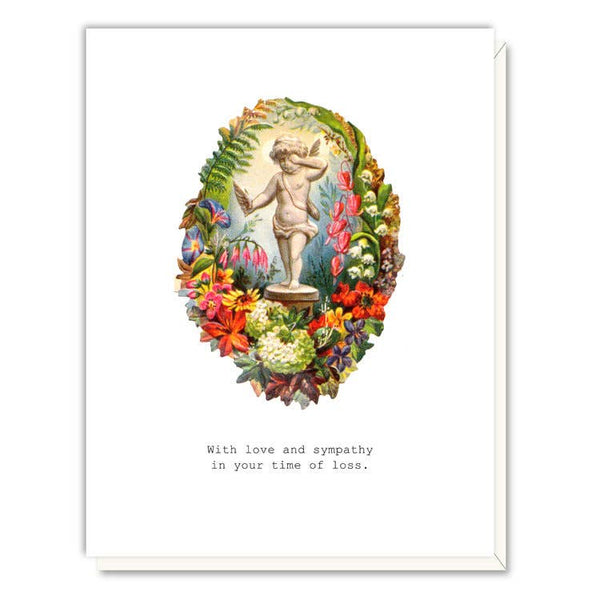 Lost Wing Sympathy Card