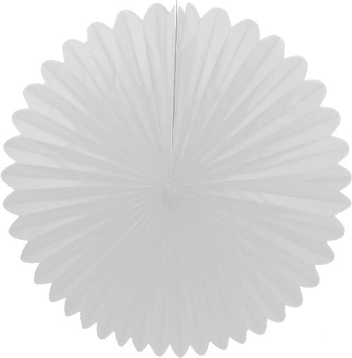 "Honeycomb Fan-13"" White"