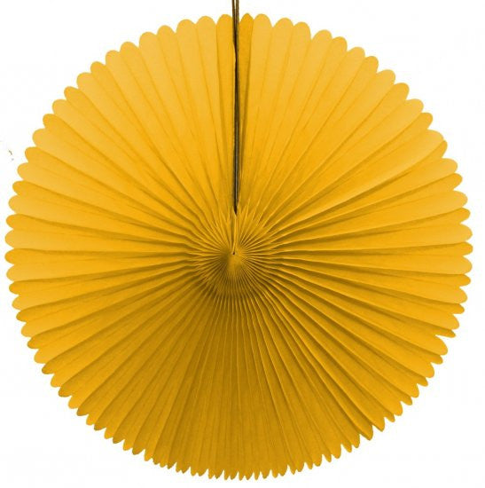 "Honeycomb Fan-13"" Yellow"