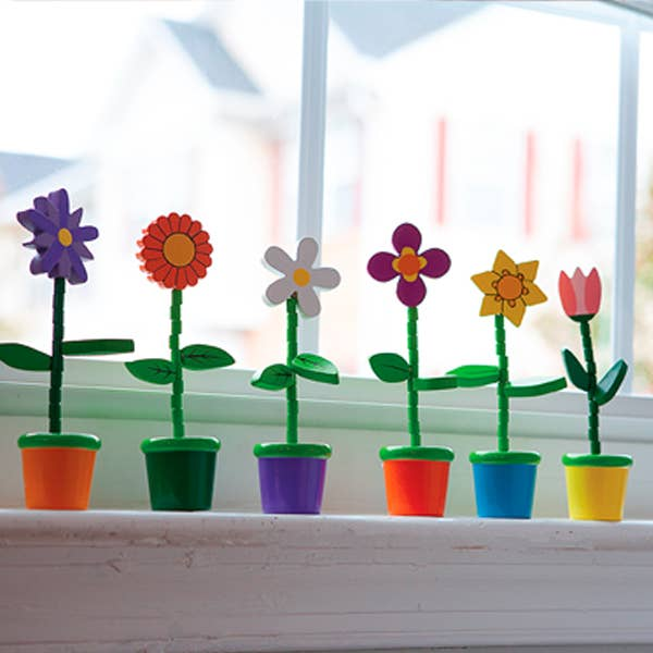 Push Puppet Flower - Set of 24