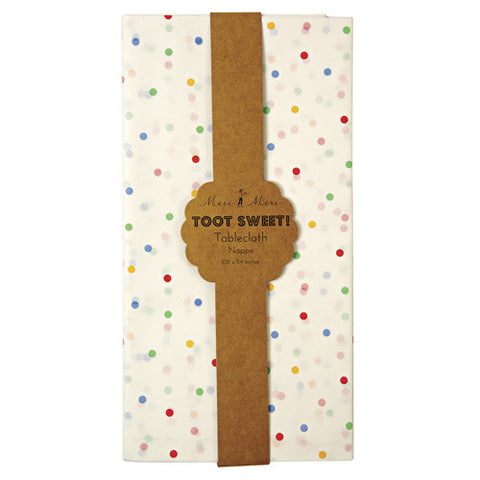 TOOT SWEET SPOTTY TABLECOVER