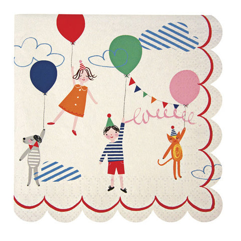 TOOT SWEET CHILDREN'S SMALL NAPKIN