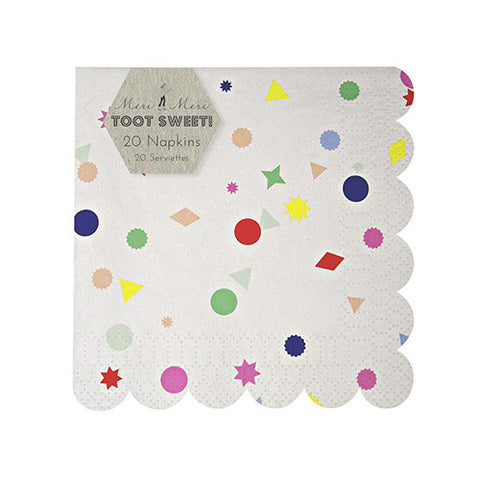 TOOT SWEET CHARMS SMALL NAPKINS