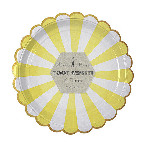 TOOT SWEET YELLOW STRIPED COLLECTION