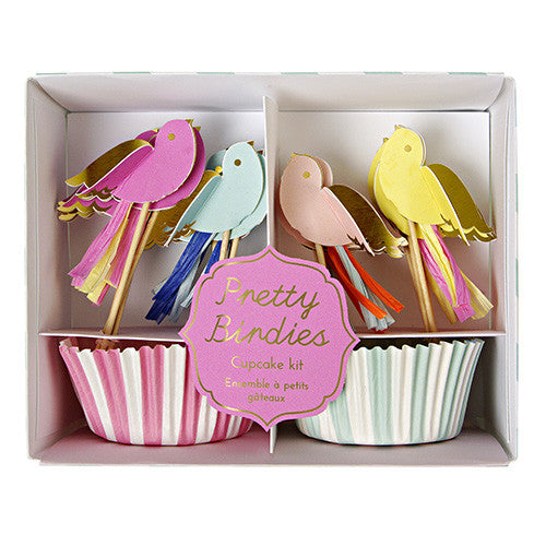 Pretty Bird Cupcake Kit