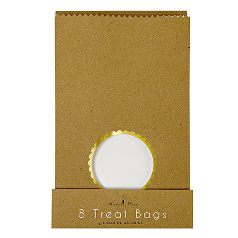 Kraft Window Treat Bag