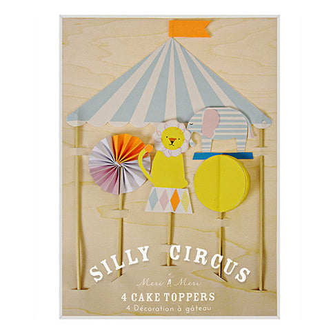 SILLY CIRCUS CAKE TOPPER