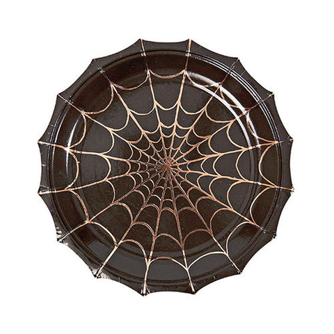 Halloween Spider Web Small Plate